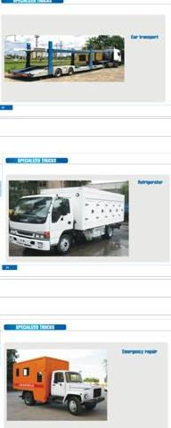Updated Catalog Of Buses, Trucks, Ambulance, Tanks, Trailers and other transports.