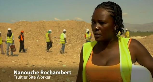Haiti: Debris Source Of Building Material and Jobs