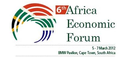 6th Africa Economic Forum 2012, Cape Town, South Africa: Shaping Africa's Future