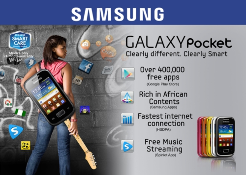 Partners with Samsung to Release the Samsung Galaxy Pocket in Nigeria