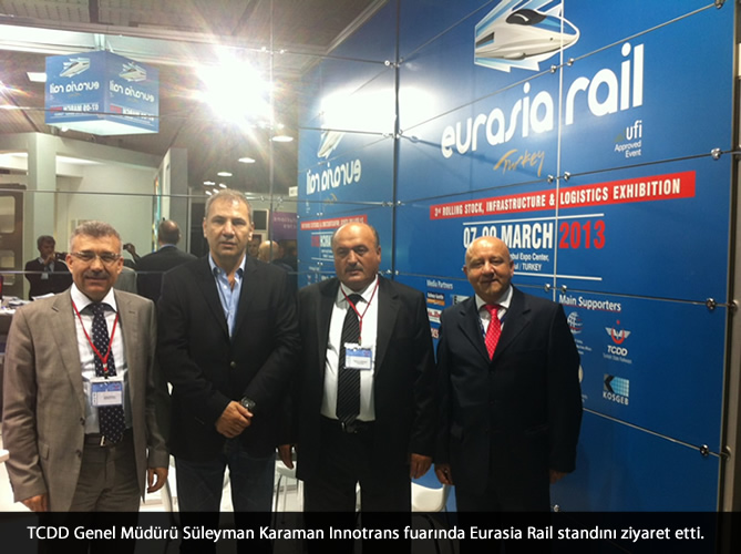 EURASIA RAIL 2013 AT INNOTRANS EXHIBITION