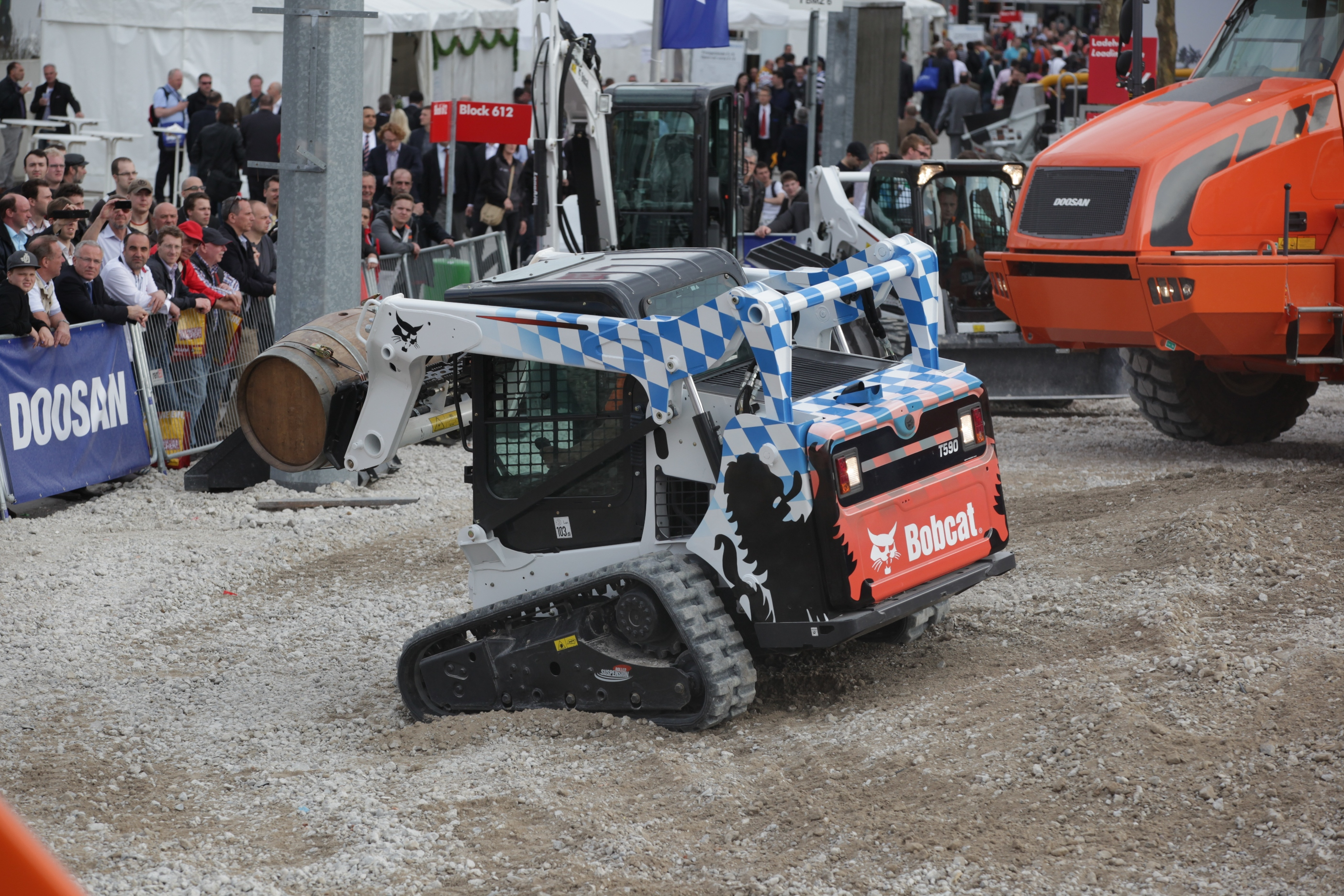 Very Successful bauma 2013 for Doosan Construction Equipment