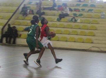 Action at the Inter cities tournament that was held last week.