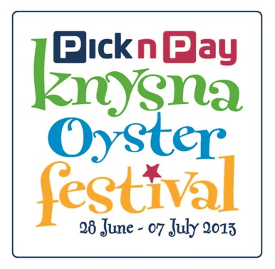 2013 Pick n Pay Knysna Oyster Festival Programme full of New Highlights