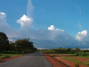 Paesaggio in Guinea-Bissau