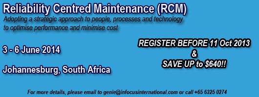 Reliability Centred Maintenance (RCM)