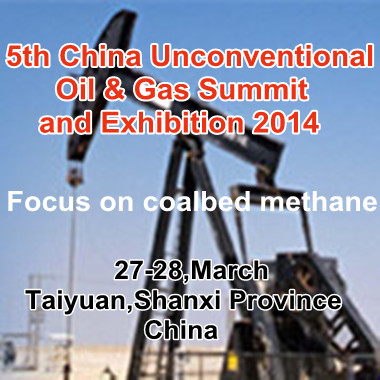 5th China Unconventional Oil & Gas Summit and Exhibition 2014