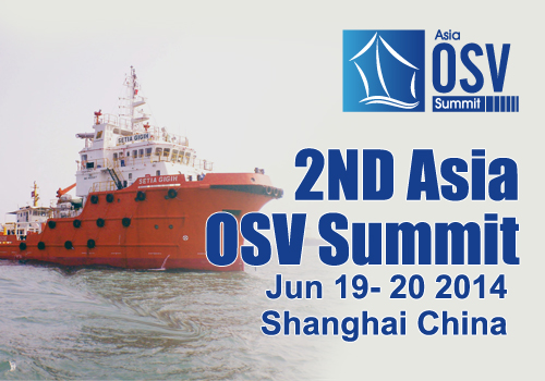 2nd Asia OSV Summit 2014 on June 19,20, 2014 in Shanghai, China