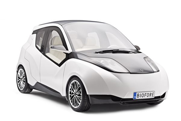 UPM and Metropolia proudly present: The Biofore Concept Car drives sustainable change through innovative use of biomaterials