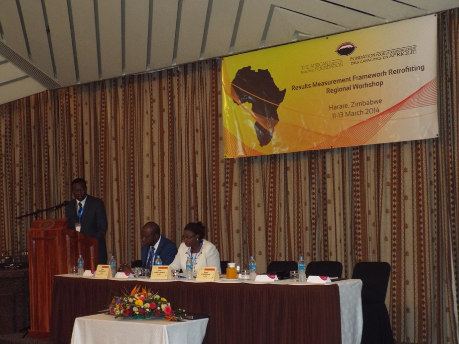 World Bank funded ACBF project results measurement regional workshop opens in Harare