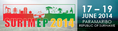 Discover Suriname's untapped mining, energy & petroleum potential at SURIMEP 2014, 17th – 19th June 2014, Paramaribo
