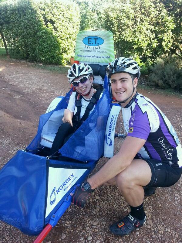 Nordex sponsors Chaeli Campaign Argus Cycle team