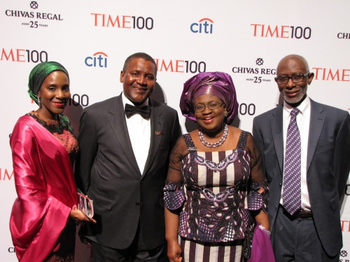 Nigeria's Finance Minister Okonjo-Iweala Honoured by Time Magazine in New York