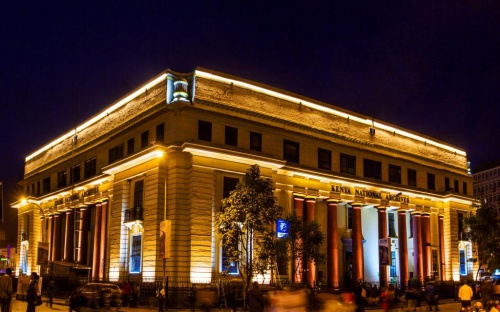 Philips revitalizes historic Kenya National Archives building with spectacular digital LED illumination