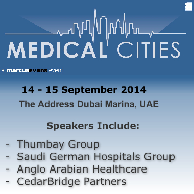 Marcus Evans Conference: Medical Cities, Dubai, UAE