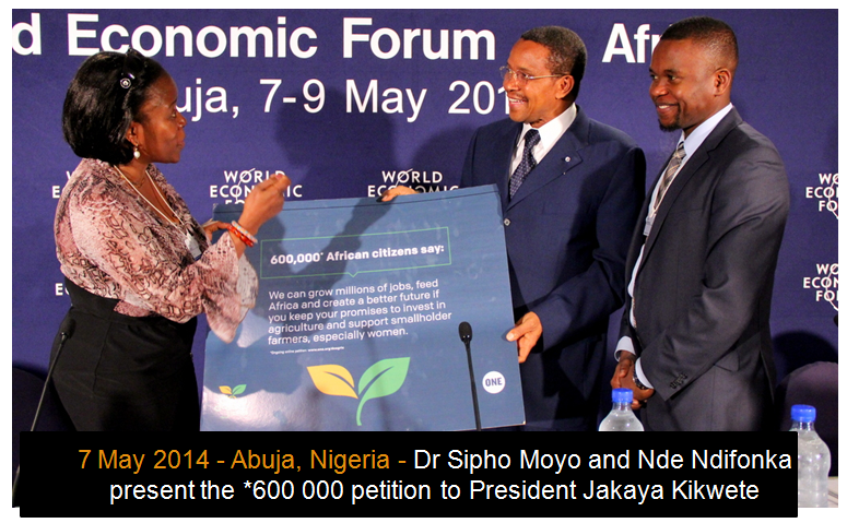 Over 2 million Africans tell African leaders at AU Summit to Do Agric