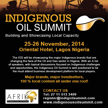 Indigenous Oil Summit  Nigeria 2014