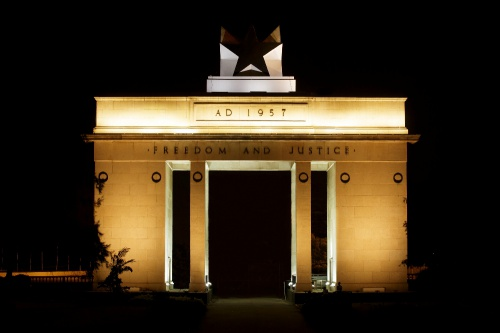 Philips revitalizes historic Black Star Monument in Accra with spectacular digital LED illumination