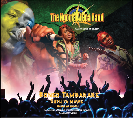 NGOMA AFRICA BAND TO ROCK 5th INTERNATIONAL AFRICAN FESTIVAL TUBINGEN,GERMANY 2014