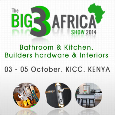 Kenya hosts The Big 3 Africa Exhibition on Kitchen & Bathroom