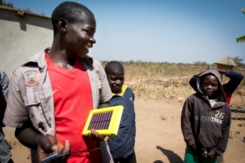 World Panel Zambia, Ltd. Celebrates Official Launch of Solar Chargers