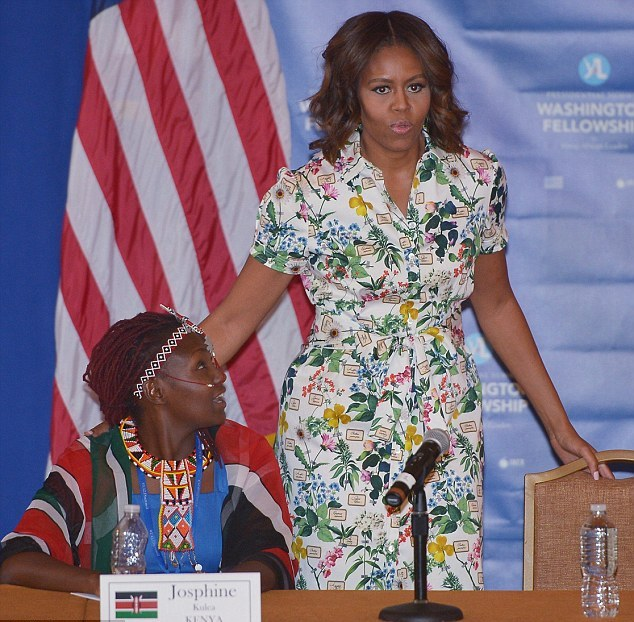 MICHELLE OBAMA'S WORDS ON WOMEN PERTINENT TO AFRICAN OIL AND GAS SECTOR