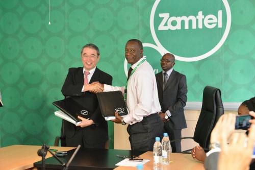 Zamtel et NEC s'entendent sur un projet de dorsale et d'accès par voie hertzienne pour renforcer la couverture et la capacité mobiles en Zambie