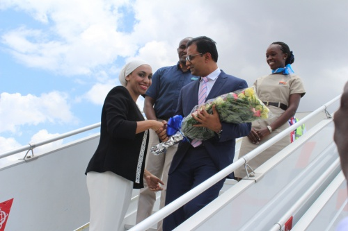 Africa: flydubai celebrates its rapid expansion in East Africa with two inaugural flights to Tanzania