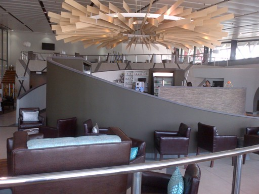 SUPER LUXURY LOUNGE FOR DURBAN'S KING SHAKA INTERNATIONAL AIRPORT
