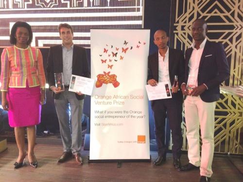Orange récompense les gagnants du Prix Orange de l'Entrepreneur Social en Afrique