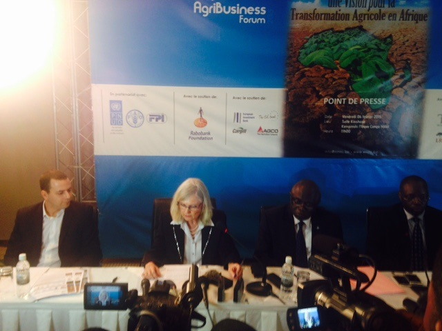 DR Congo's Ministry of Agriculture, Fisheries and Livestock announces the upcoming AgriBusiness Forum 2015 to be held in Kinshasa