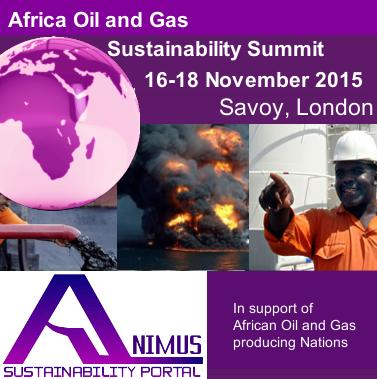 Africa oil and gas sustainability, London, 16-18 November 2015