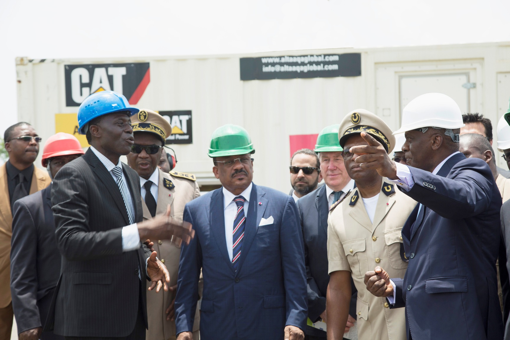 Cameroon Minister and Altaaqa Global Inaugurate Gas Power Plants