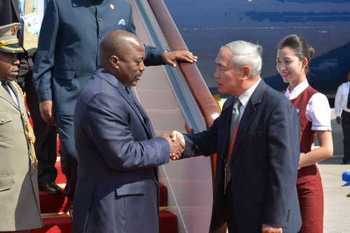 State Visit by Democratic Republic of Congo (DRC) President Joseph Kabila to China