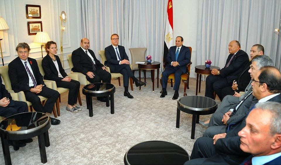 Lekela Power signs MoU for US$350m wind power station in Egypt, following meeting with President Al-Sisi