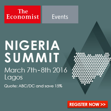 The Economist Events' Nigeria Summit to take place on March 7th and 8th 2016