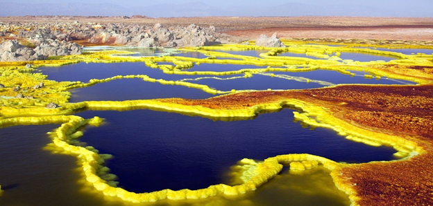 Dallol the World's Hottest and Extreme Place on Earth