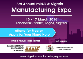 3rd Annual mPAD and the Nigeria Manufacturing Expo