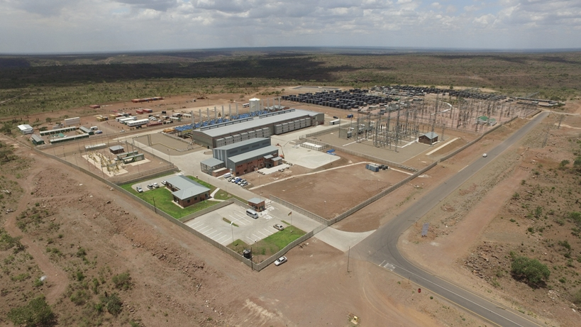 100 mw power generation plant in Mozambique goes into operation with Rolls-Royce gas engines