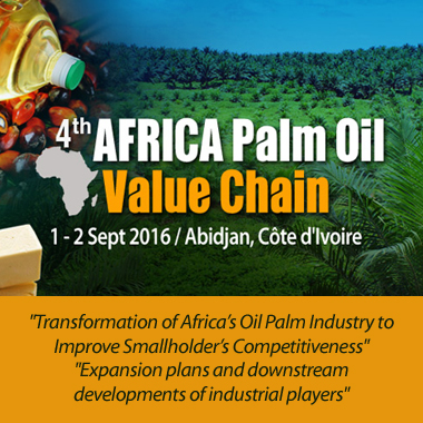 4th Africa Palm Oil Value Chain 2016