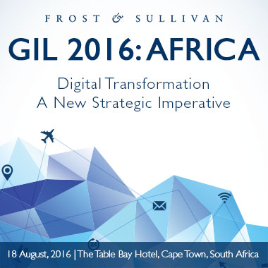Frost & Sullivan's Growth Innovation and Leadership (GIL) 2016: Africa
