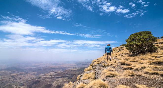 The Green Mountain of Debre Birhan