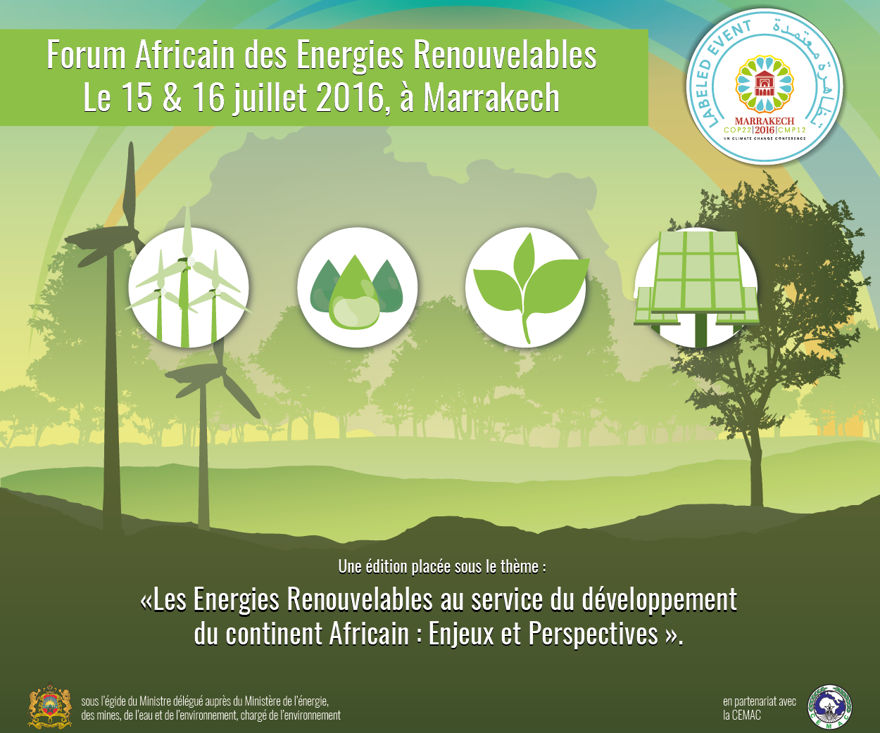AFER Forum 2016 African Forum of Renewable Energies
