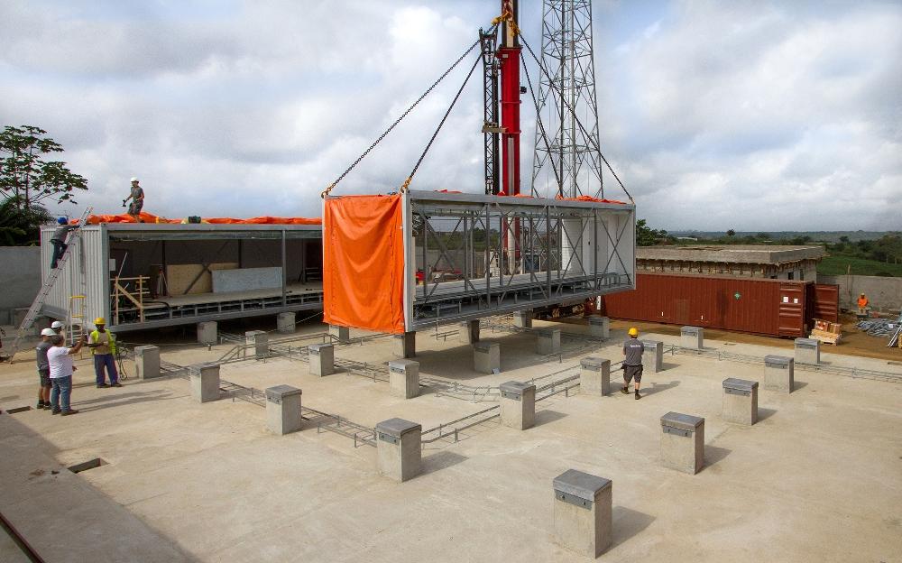 Flexenclosure eCentre - MTN Cote d'Ivoire