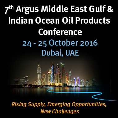 Argus Middle East Gulf and Indian Ocean Oil Products Conference @ Dubai, UAE