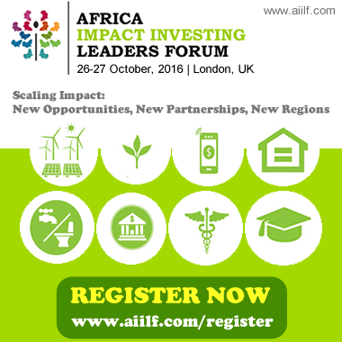 Africa Impact Investing Leaders Forum @ London, UK