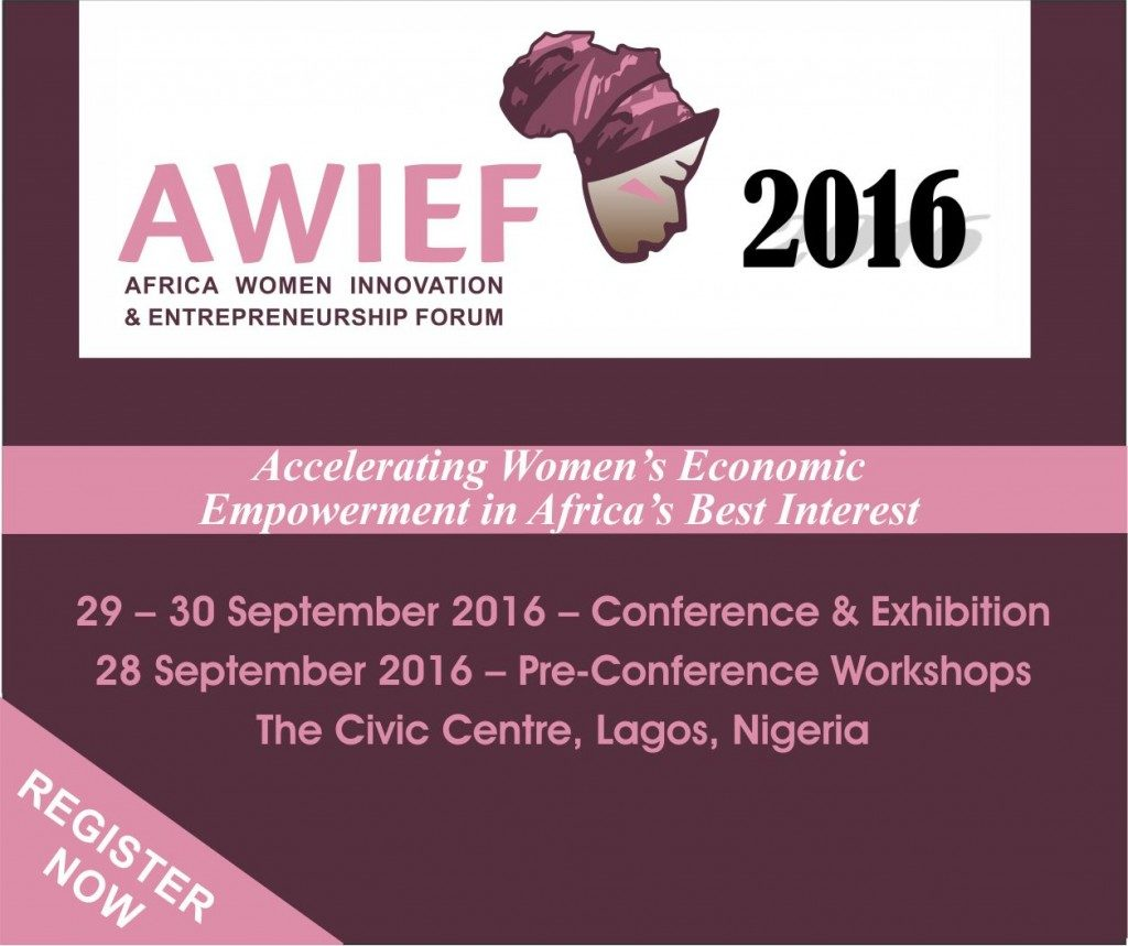 2ND AFRICA WOMEN INNOVATION & ENTREPRENEURSHIP FORUM @ The Civic Centre, Lagos, Nigeria