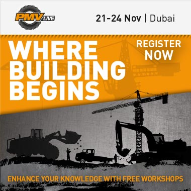 The largest infrastructure & construction machinery event in the Middle East @ Dubai, UAE