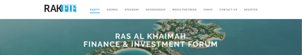 Ras Al Khaimah Finance and Investment Forum
