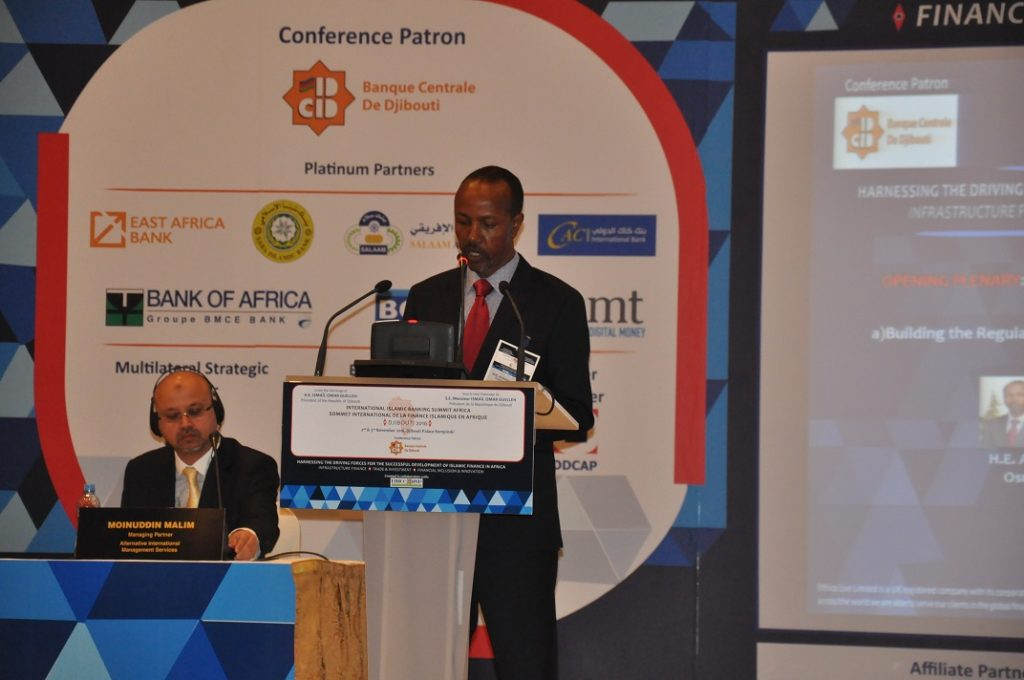 H.E. Ahmed Osman, Governor of the Central Bank of Djibouti